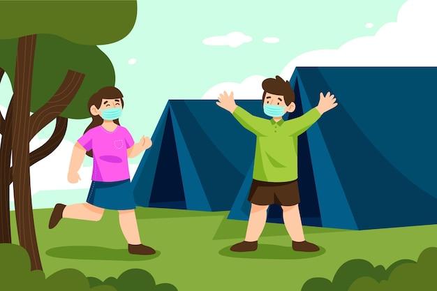 Nueva normalidad en campamentos de verano