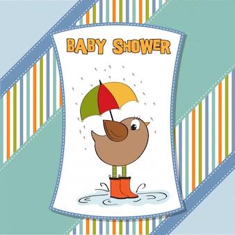 Nueva tarjeta de anuncio de bebé