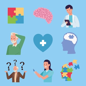 Nueve elementos de alzheimer