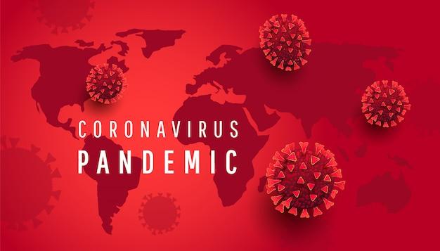Nuevo coronavirus 2019-ncov. cuarentena mundial de coronavirus. epidemia viral en el mundo.