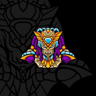 Nuevo pharaoh squad para mascota, letrero u otro juego en equipo