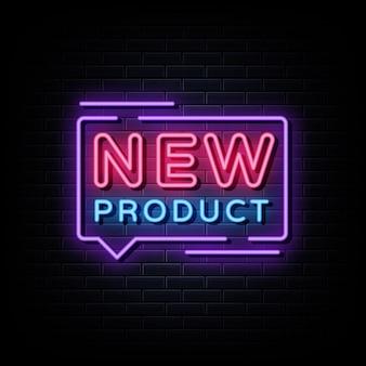 Nuevo producto letrero de neón estilo neón.