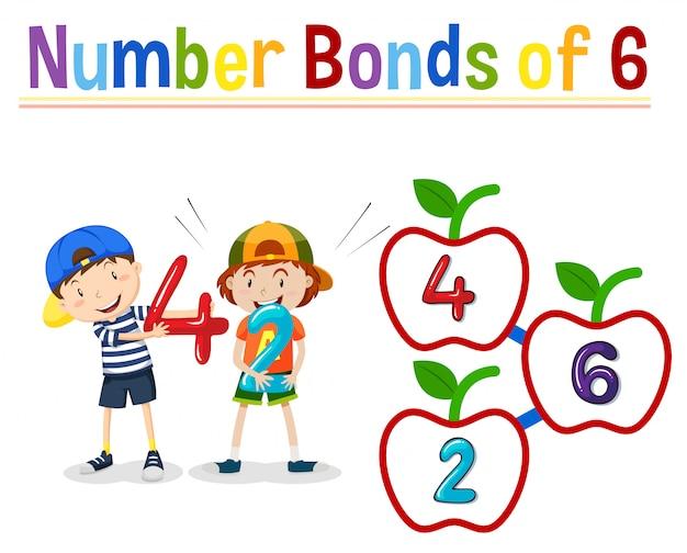 Número de bonos de 6