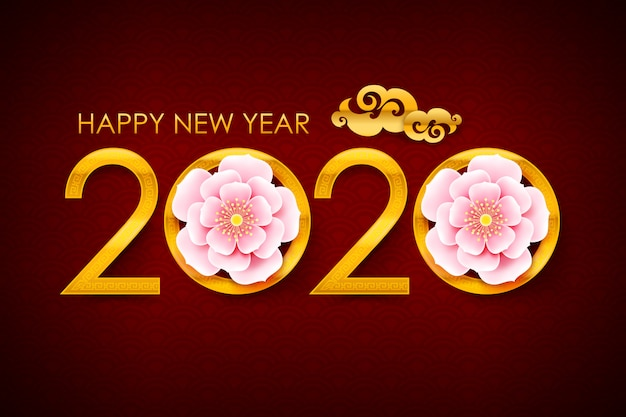 Número de caligrafía 2020