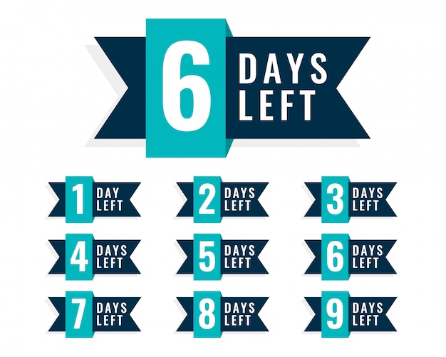 Número de días que quedó el diseño de la insignia