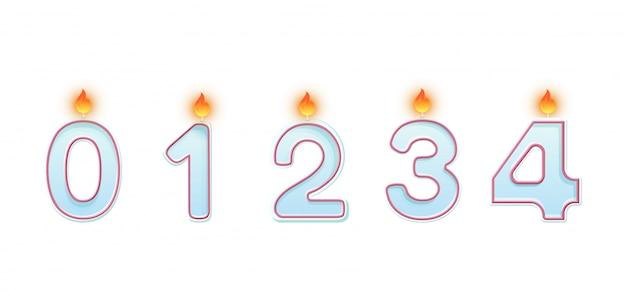 Números de velas