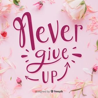 Nunca abandones