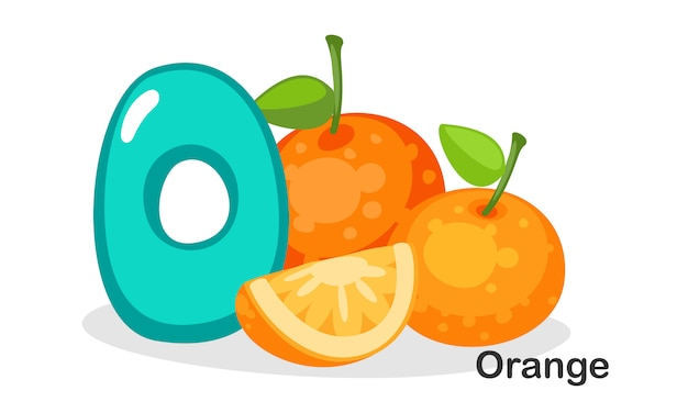 O para naranja