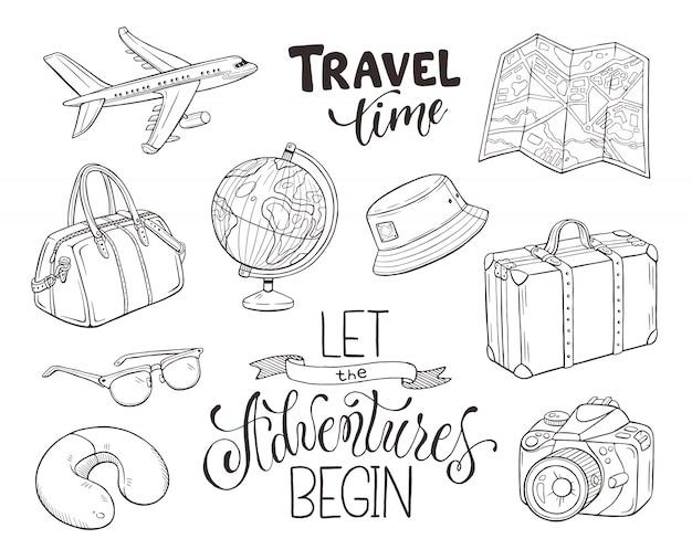 Objetos de viaje