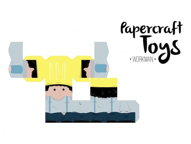 Obrero papercraft