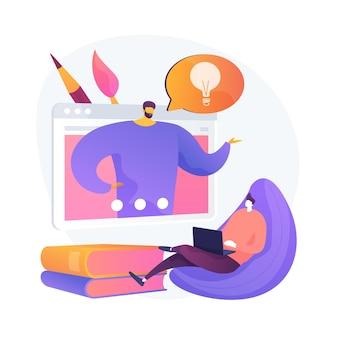 Observación de consejos y sugerencias de gráficos por computadora. masterclass de diseño digital, curso en línea, información útil. preparación de exámenes de pintura.