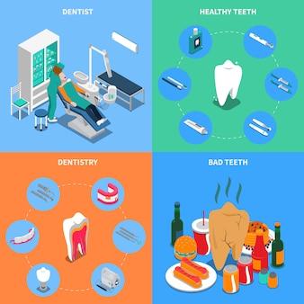 Odontología 2x2 design concept