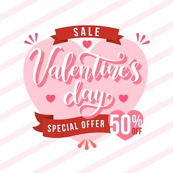 Oferta especial plana venta de san valentin