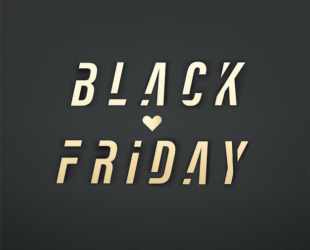 Oferta especial de venta de viernes negro