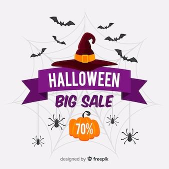 Oferta de venta de sombrero de bruja de halloween