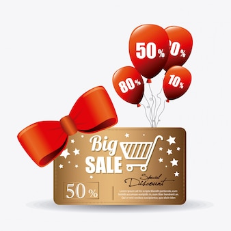 Ofertas especiales de compras, descuentos y promociones.