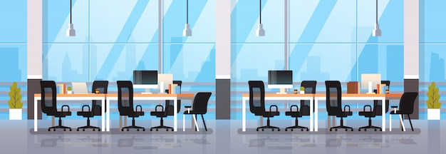 Oficina moderna interior lugar de trabajo escritorio centro de trabajo creativo centro de trabajo