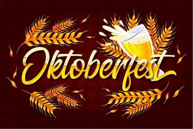Oktoberfest - concepto de letras