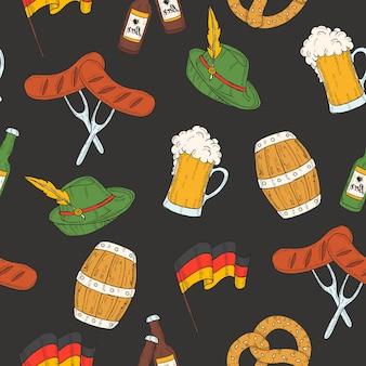 Oktoberfest de patrones sin fisuras