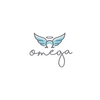 Omega angel logo