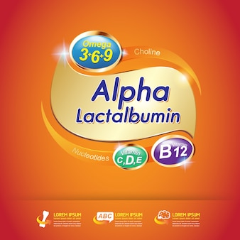 Omega calcio y vitamina para niños