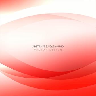 Onda creativa colorida abstracta en el fondo blanco