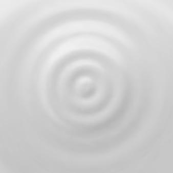 La ondulación del chapoteo agita la leche. ilustración de fondo