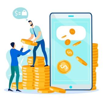 Operaciones financieras y transacciones digitales