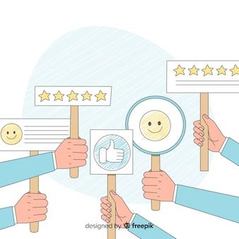 Opinión satisfacción cliente