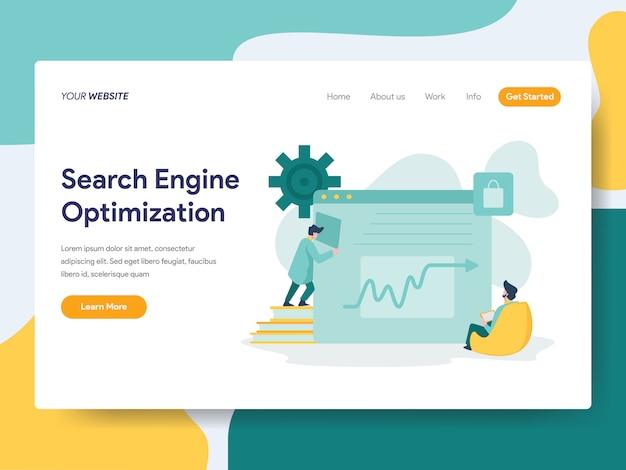 Optimización de motores de búsqueda para la página web