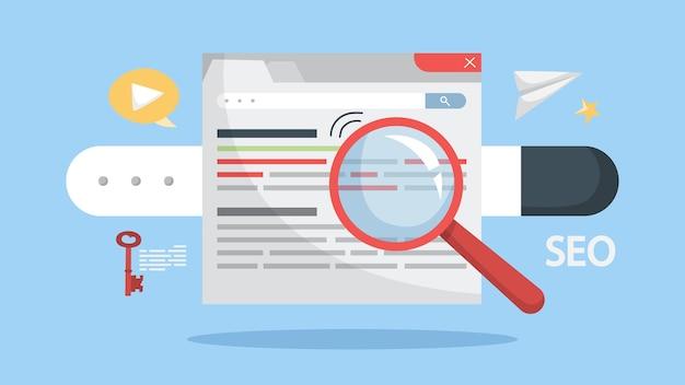 Optimización de motores de búsqueda para sitios web