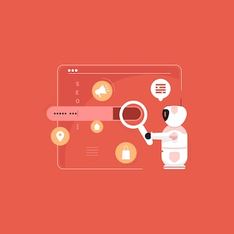 Optimización robótica de motores de búsqueda, herramienta de búsqueda de palabras clave, marketing en internet