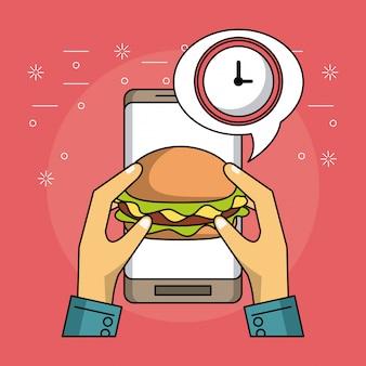 Orden de comida en linea