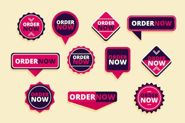 Ordene ahora - colección de pegatinas