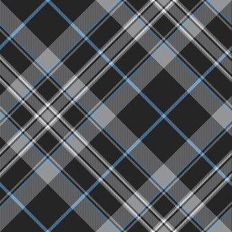Orgullo de escocia platino falda escocesa tartán de patrones sin fisuras
