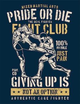 Orgullo o morir