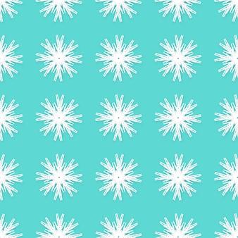 Origami copos de nieve blanca de patrones sin fisuras