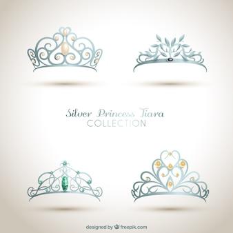 Ornamentales coronas de princesa
