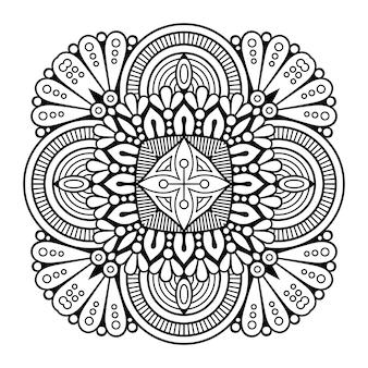 Ornamento arabesco de vectores