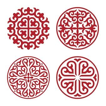 Ornamento tradicional de asia media