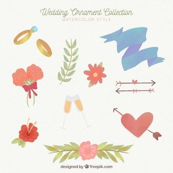 Ornamentos de boda