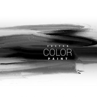 Oscuro diseño de fondo de la pintura de tinta negro