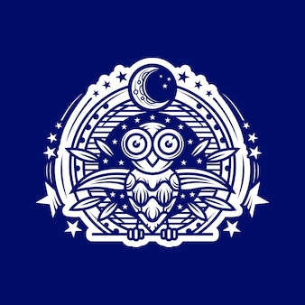 Owl night logo