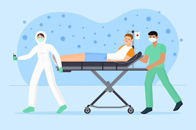 Paciente crítico de coronavirus