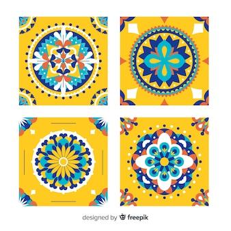 Pack amarillo de azulejos
