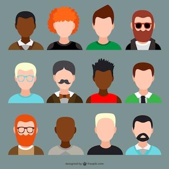 Pack de avatars