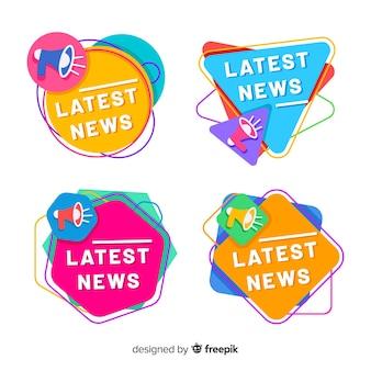 Pack banners coloridos últimas noticias