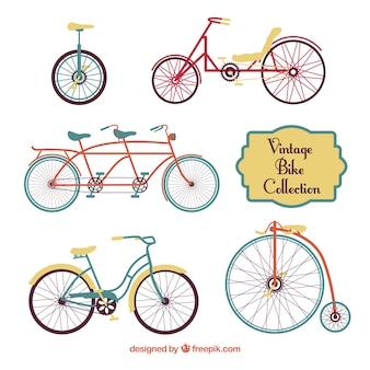 Pack de bicicletas vintage
