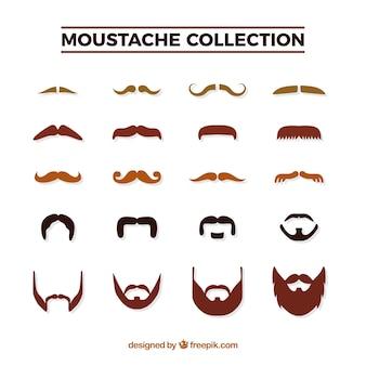 Pack de bigotes para movember