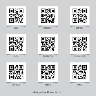 Pack de códigos qr
